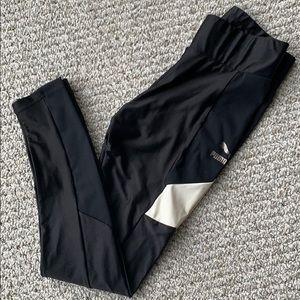 Puma black/white legging size S